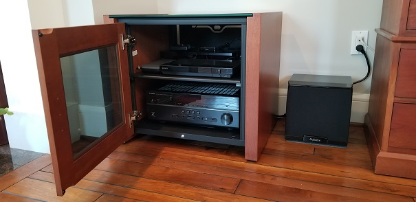 Salamander Designs audio cabinet
