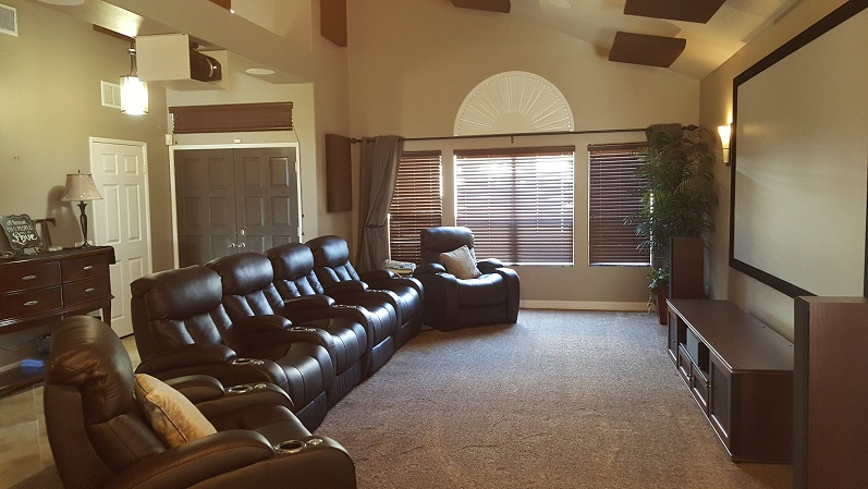 Home theater seating san diego