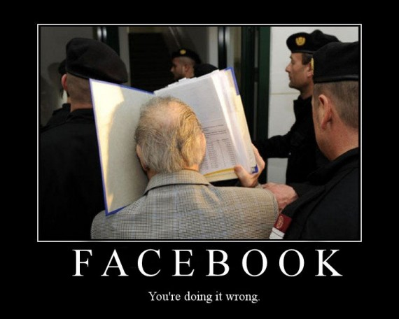 Facebook: You're doing it wrong.